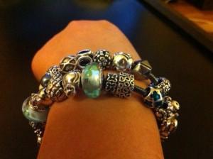How to wear multiple pandora bracelets