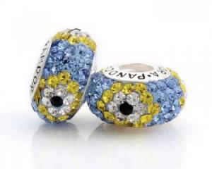 Fake Pandora Murano bead
