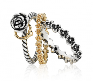 New rings from the Pandora Spring/Summer 2012 collection