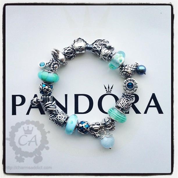 How Much Is A Pandora Charm Bracelet: Teal Pandora Bracelet Video