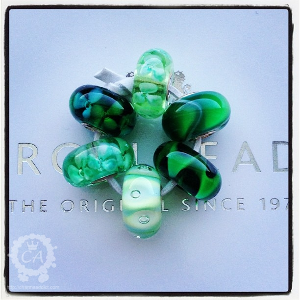 Trollbeads Crisp Green Kit