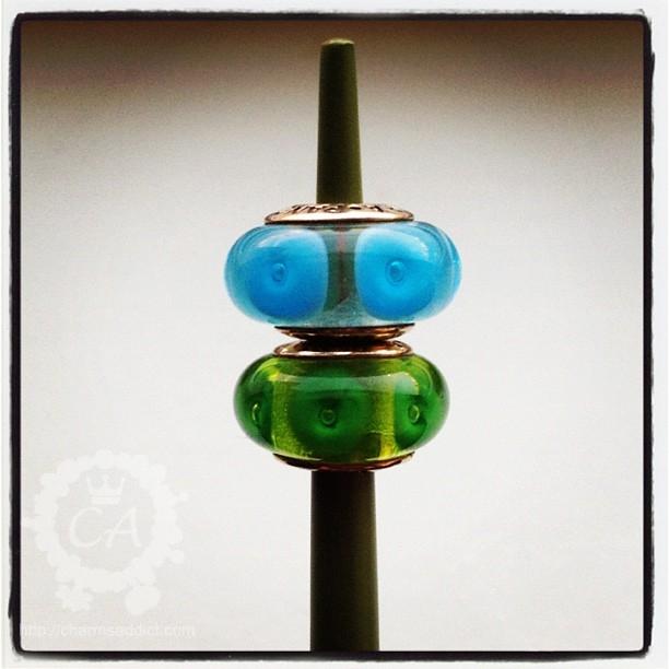 Variation of Pandora Murano beads
