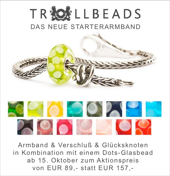 Trollbeads Luck & Joy available for sale