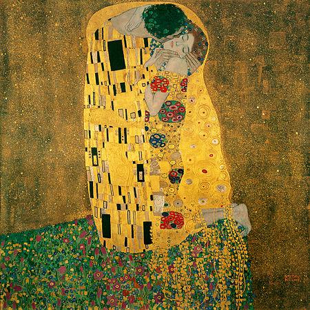 *redbalifrog* Klimt-inspired charms