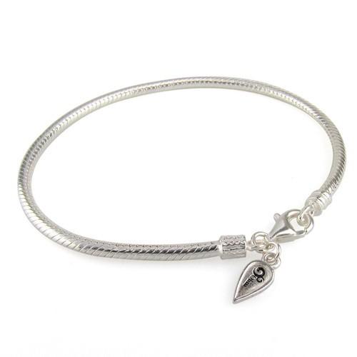 Ohm Lobster Clasp Bracelet
