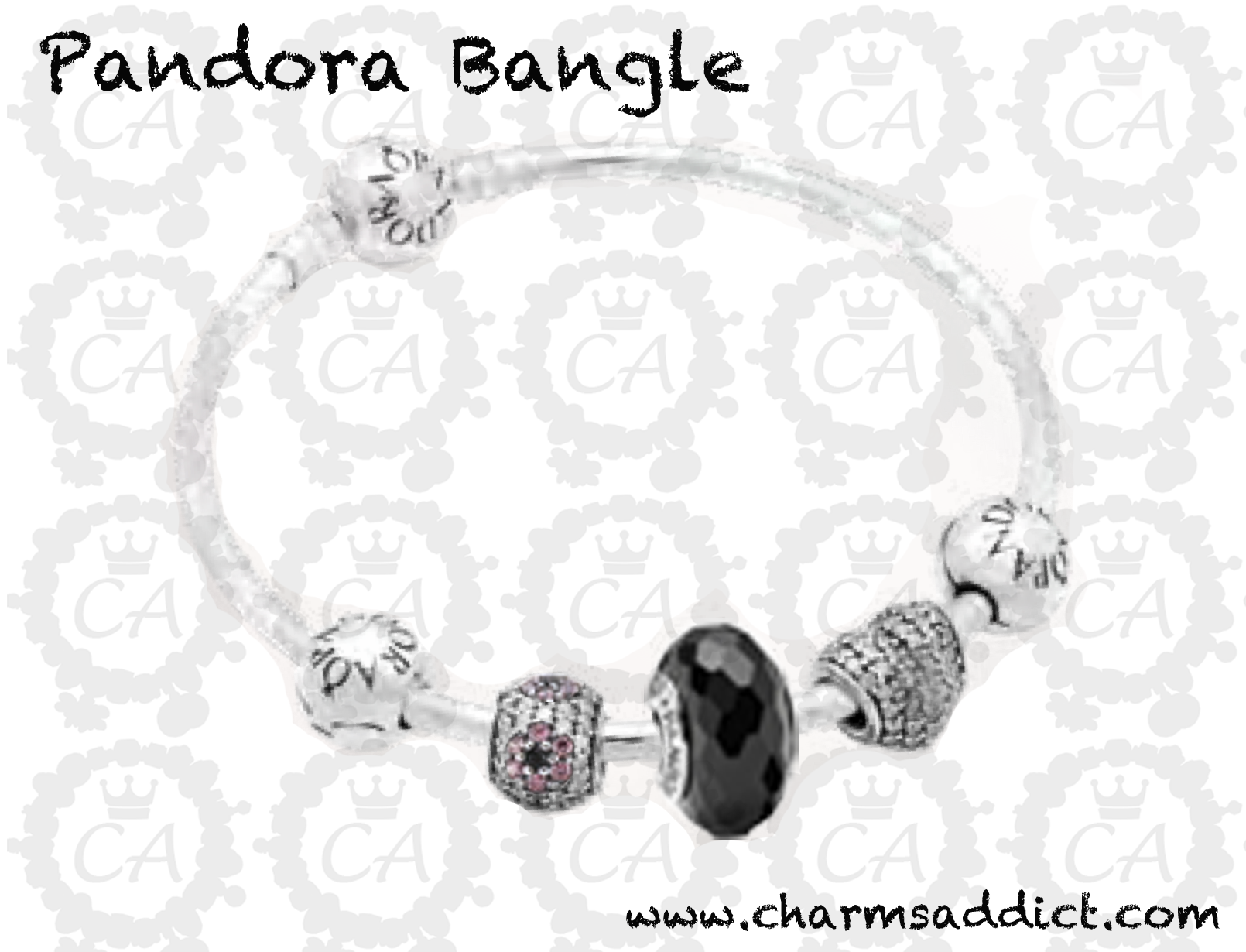 sweater spicing rose with charms bangles two tone perfect sterling for a in wintery and silver pandora up look adorn pin wrist stunners bangle your
