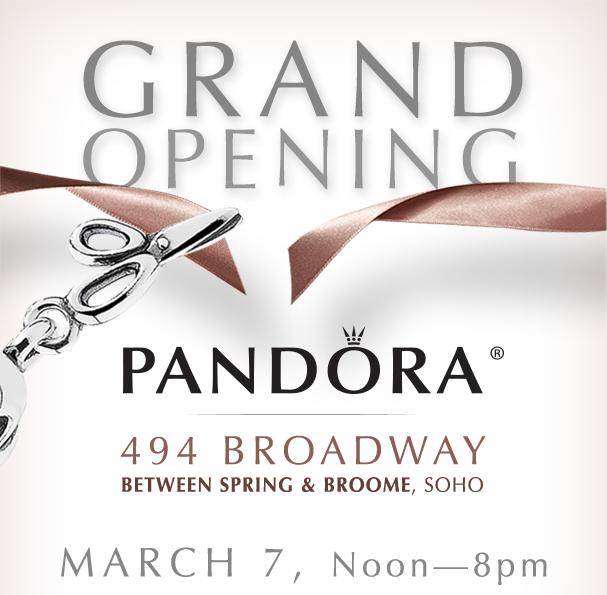 Pandora Flagship Store Grand Opening