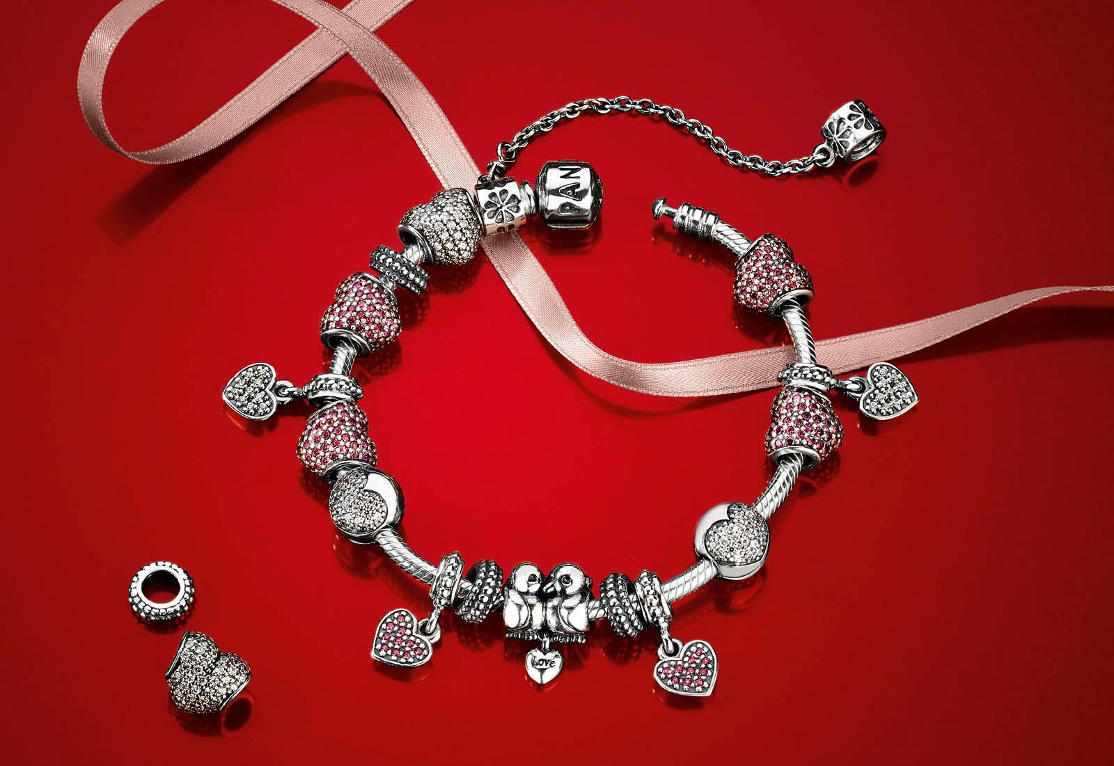 Pandora Valentine's Day 2013 in stock at Perlen!