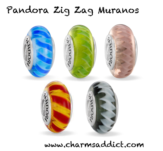 Pandora Zig Zag Murano Collection