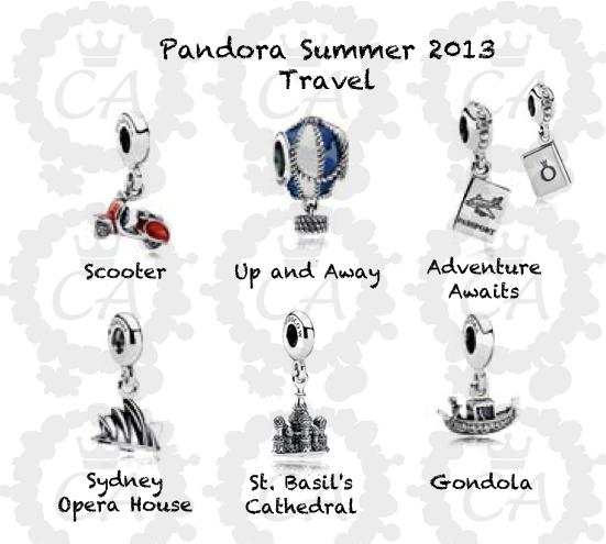 pandora charms venecia
