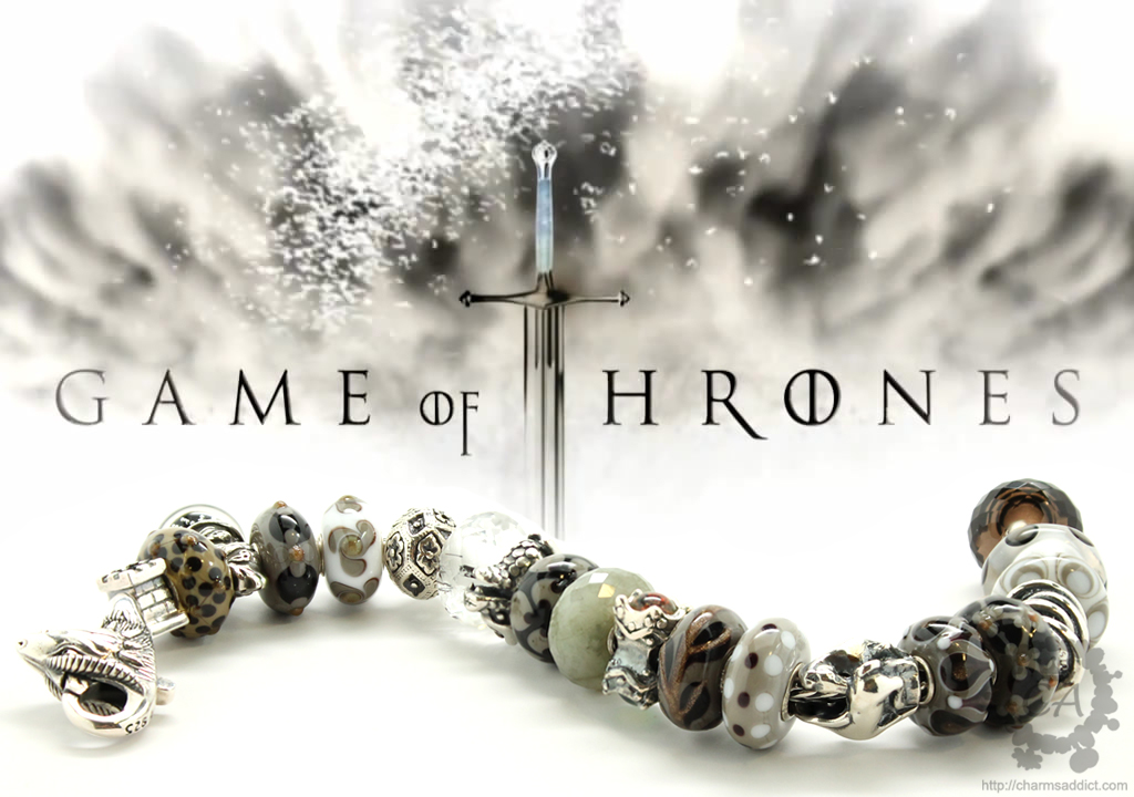 Game of Thrones bracelet featuring Trollbeads