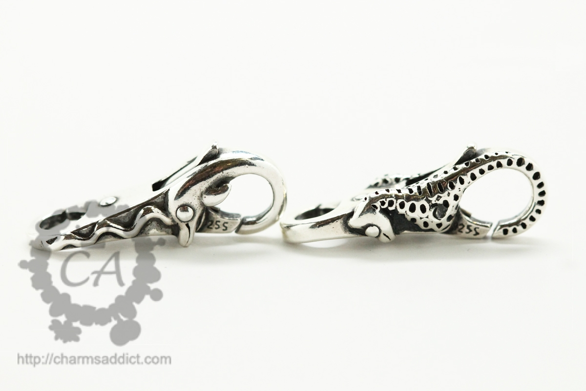 Trollbeads Seahorse and Dolphin Locks