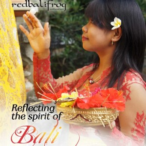 Reflecting the spirit of Bali Poster