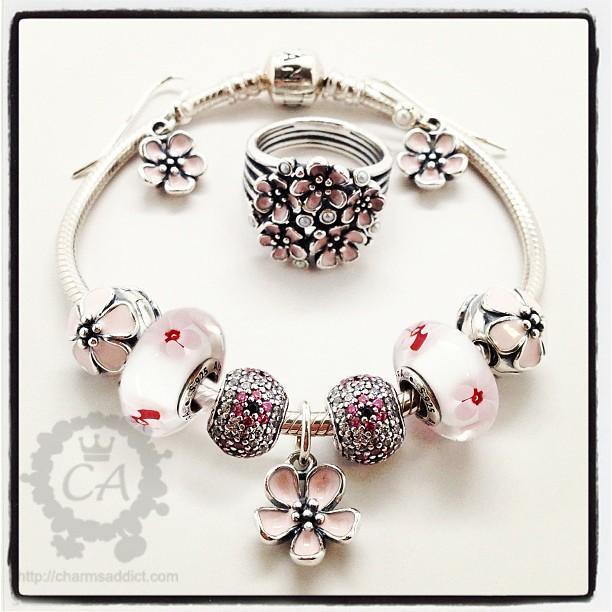 Pandora Jewelry Collection: Pandora Cherry Blossom Collection