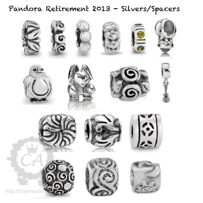 Pandora Charms Retirement