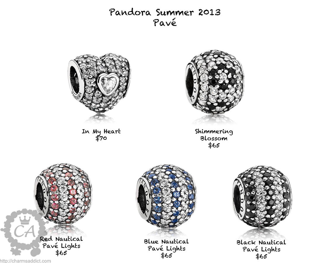 pandora summer 2013 collection prices and live photos