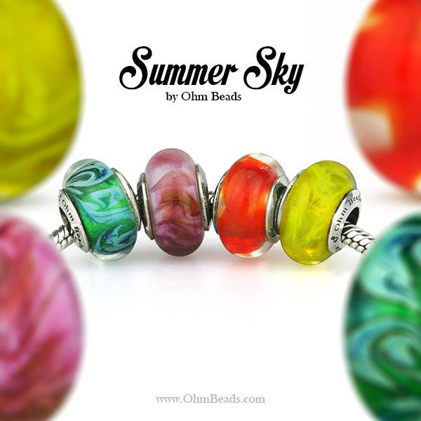 Ohm Beads LE Summer Sky Collection