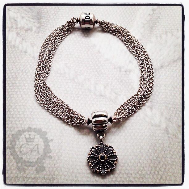 Pandora Multi Strand Clip Bracelet2