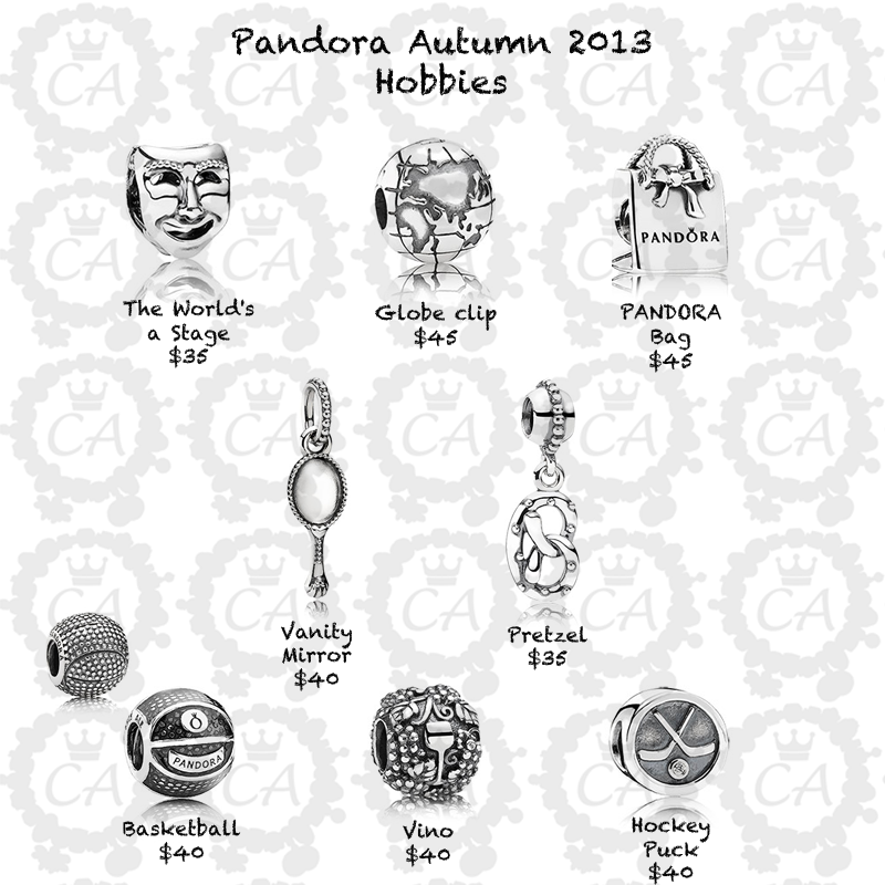 Pandora Jewelry Cost: Pandora Autumn 2013 Collection Prices And More Live Shots