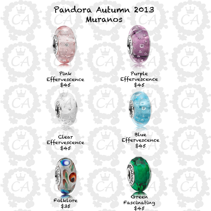 pandora autumn 2013 collection prices and more live