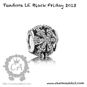 Pandora LE Black Friday Charm 2013 Preview