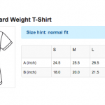 W Standard T-Shirt