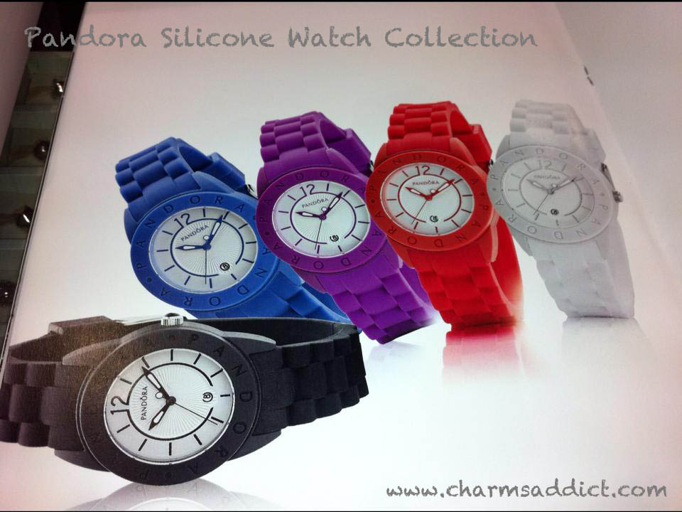 Pandora Silicone Watches