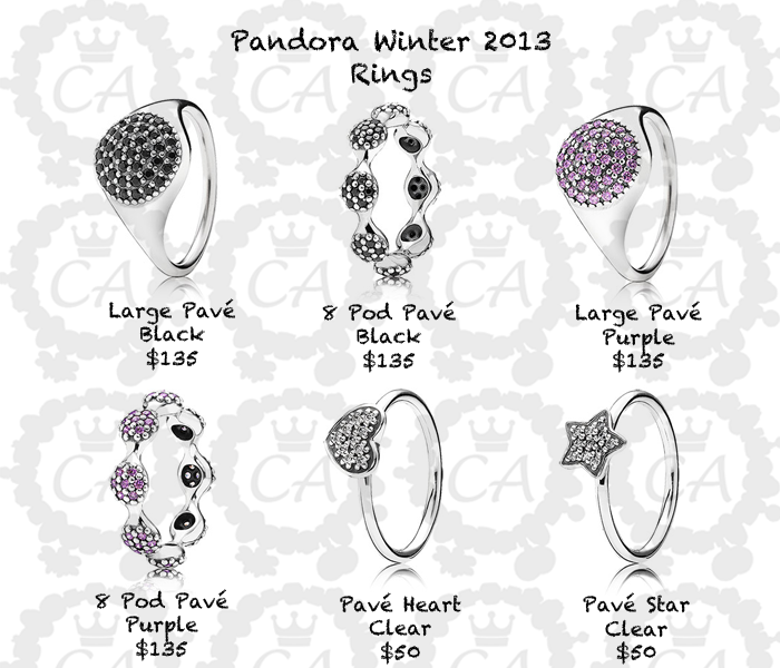 Pandora Earrings Price: Pandora Winter 2013 Collection Prices And Live Shots