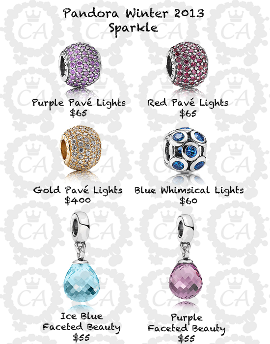 Pandora Winter 2013 Collection Prices And Live Shots