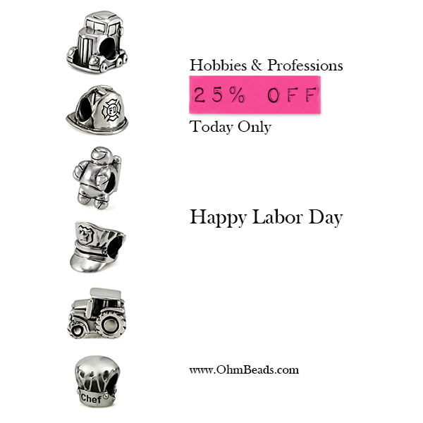 Ohm Beads Labor Day Sale