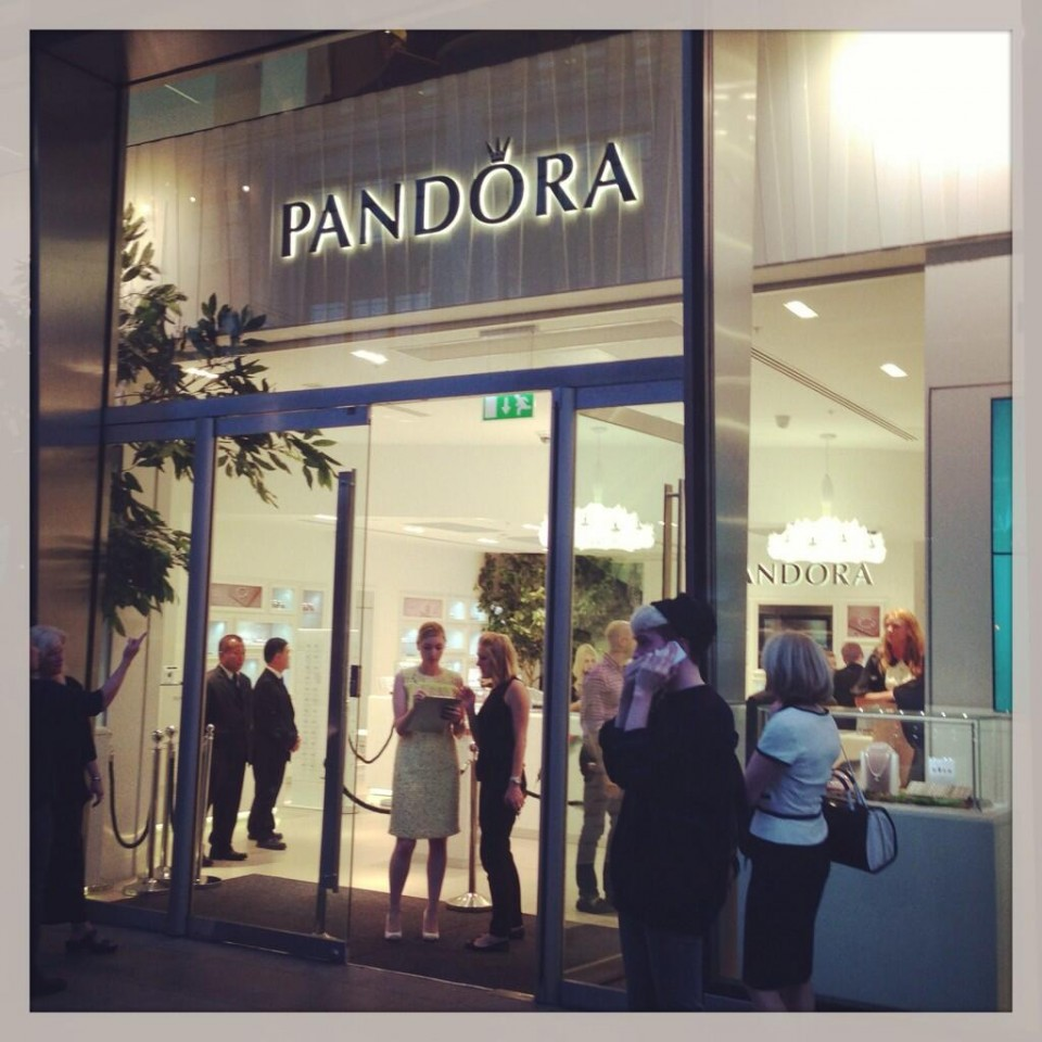 Pandora London Flagship Store Grand Opening Charms Addict