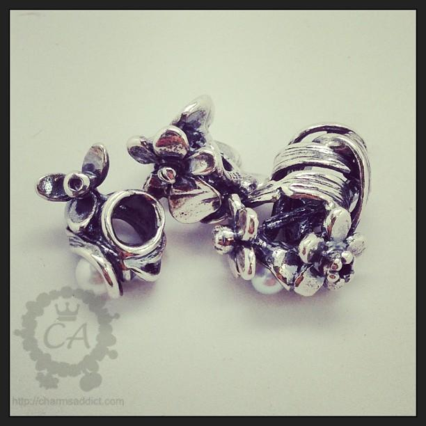 Trollbeads Flowers of the Month Review Part I – January to March
