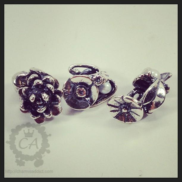 Trollbeads Flowers of the Month Review Part III – July to September