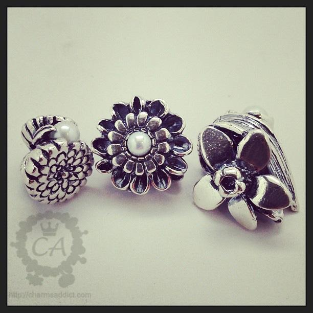 Trollbeads Flowers of the Month Review Part IV – October to December