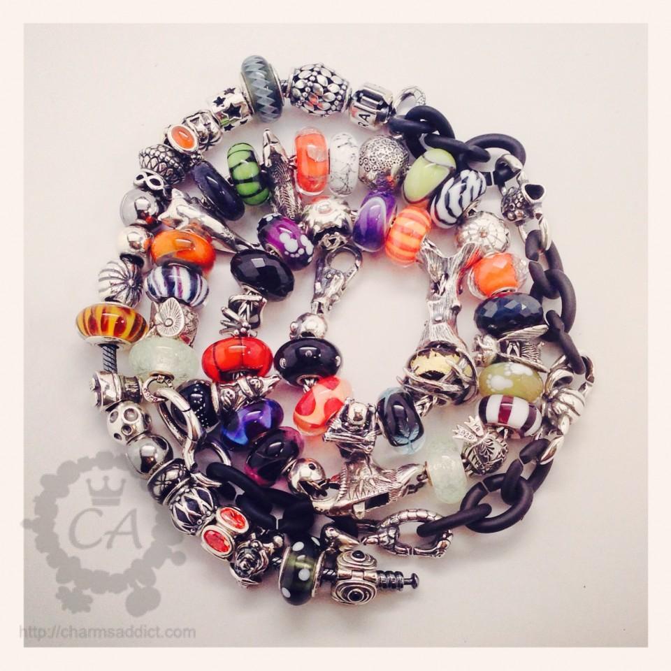 Halloween Bracelets Charms Addict