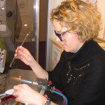 Creating glass Trollbeads