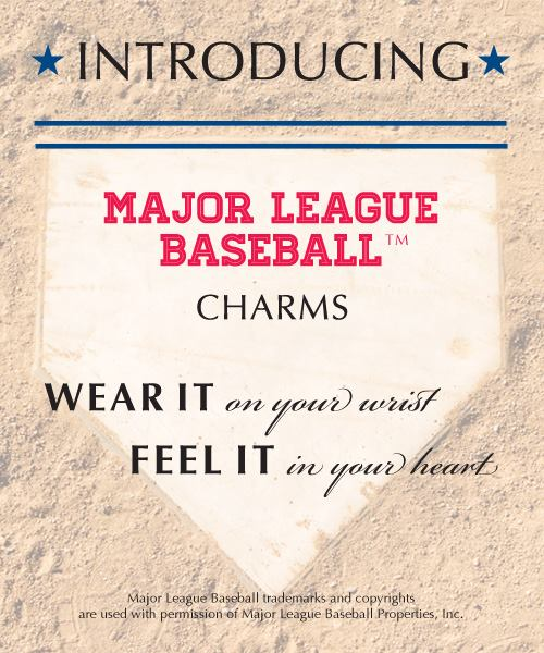 Pandora MLB Charms Released