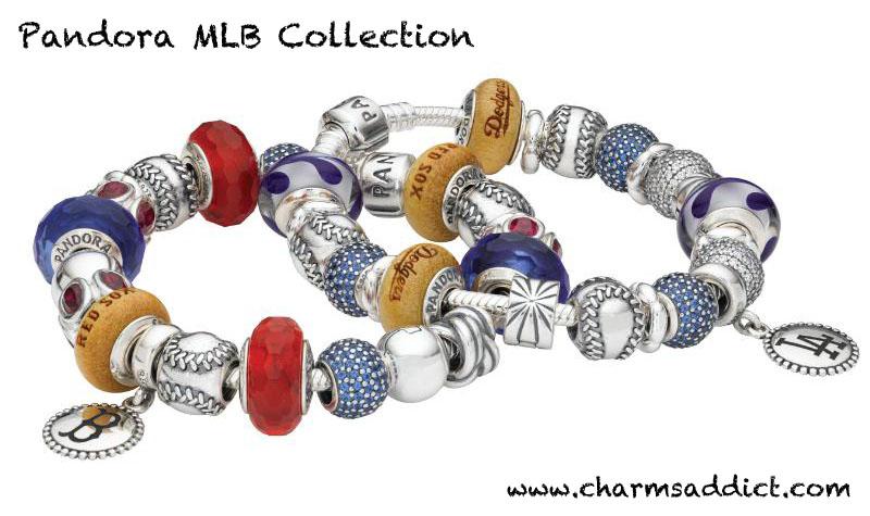 Pandora Charms Baseball