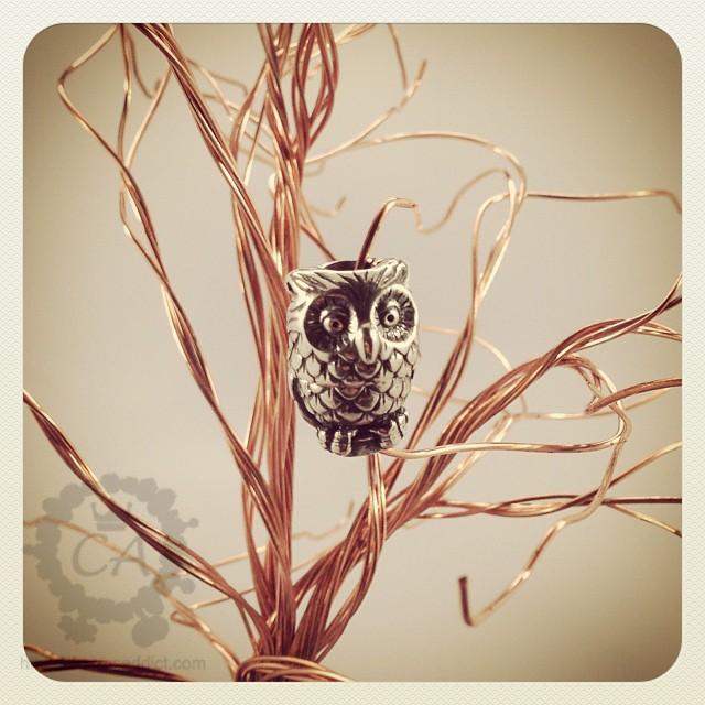 Trollbeads Night Owl Pendant