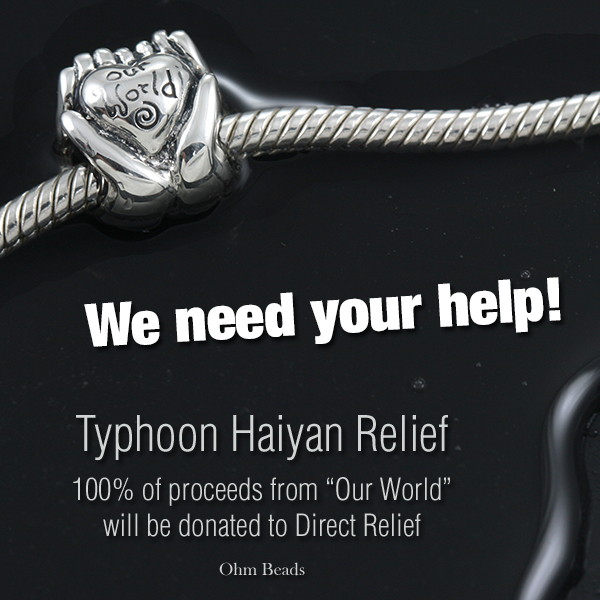 Ohm Beads Our World – Philippines Typhoon Haiyan Donation