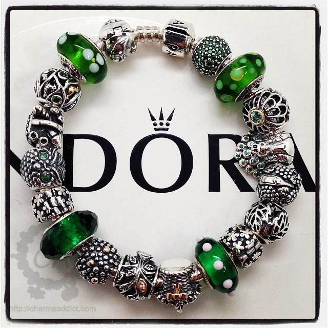 My Pandora Green Enchanted Forest Bracelet