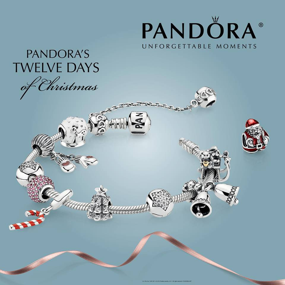 Pandora Christmas Gift Set: Pandora Winter 2013 Collection Official Release And 12
