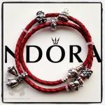 pandora-leather-christmas-bracelet1