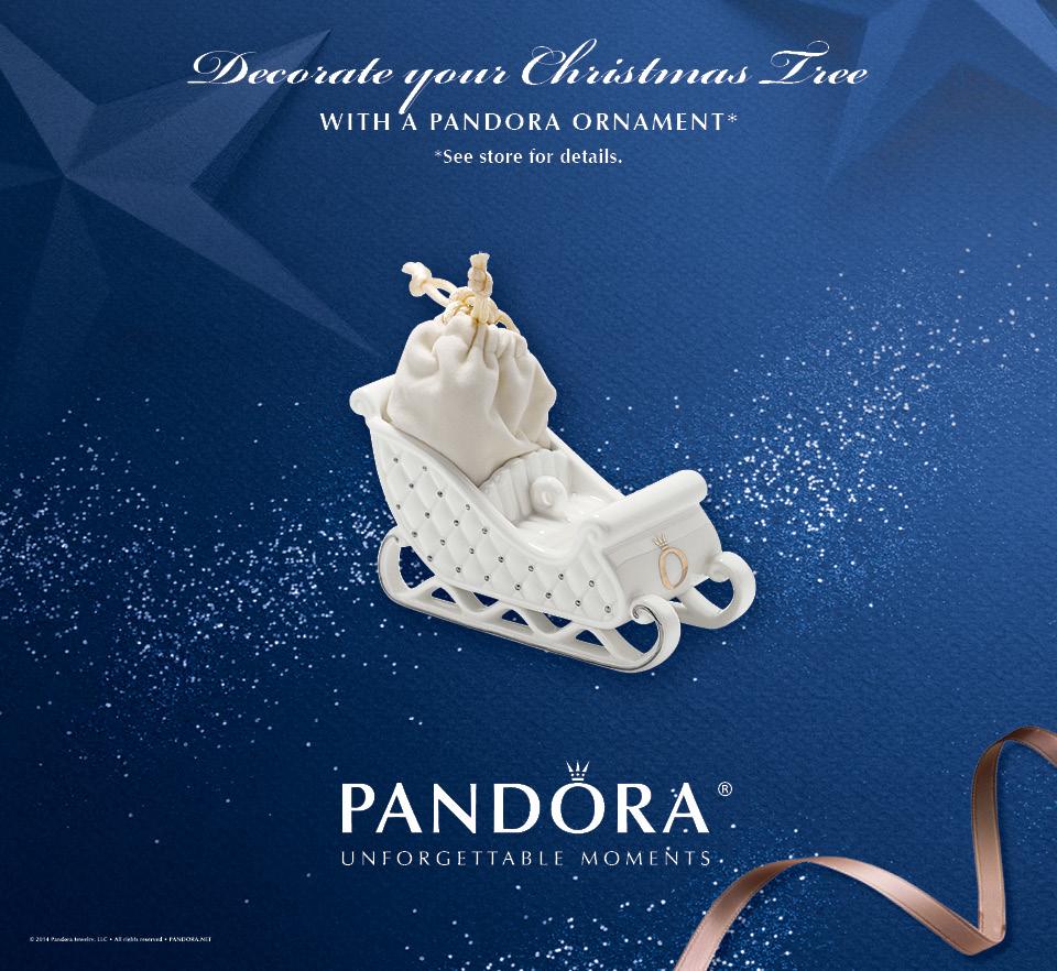 Pandora Christmas Ornament 2014 Promotion   Charms Addict