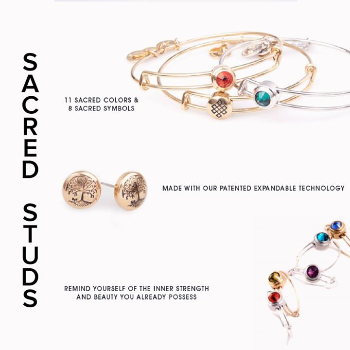 Alex and Ani – Sacred Studs Collection