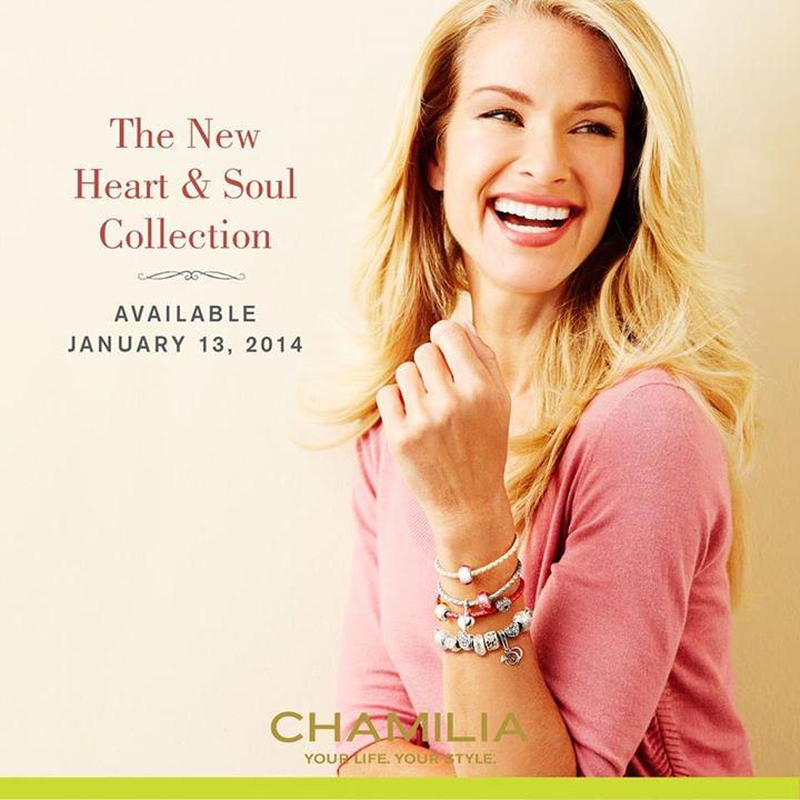 Chamilia Heart & Soul Collection (Season 1 2014) Released