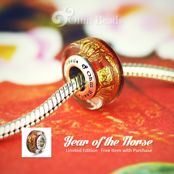 Ohm Beads LE Year of the Horse GWP