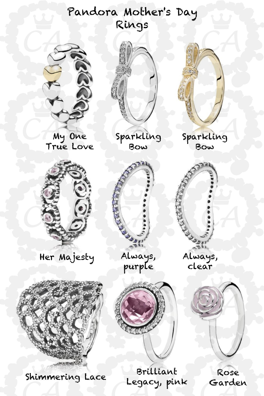 pandora ring collection - Pandora Valentines Day Ring