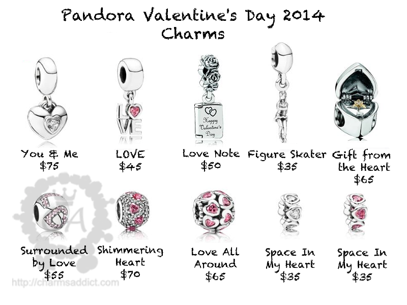 More Shots of Pandora Valentine's Day 2014 Collection ...
