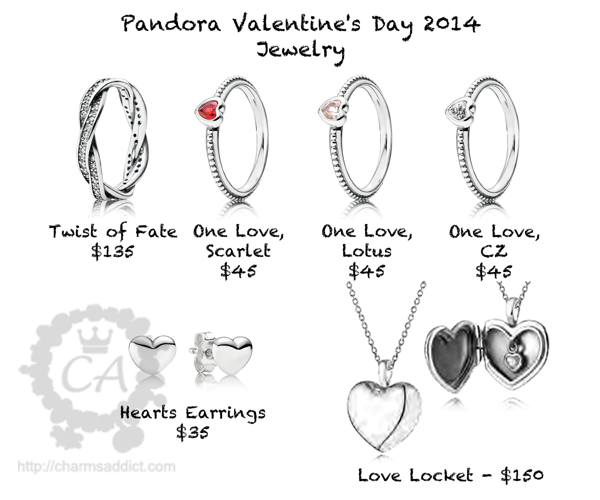 pandora valentines day 2014 jewelry - Pandora Valentines Day Ring